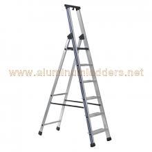 3 tread aluminum platform stepladder 13 cm Steps Dimension