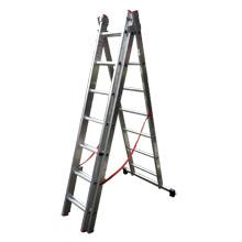 Aluminum ladders /2-3 section Industrial extension ladders