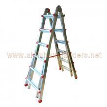 4+5 treads Aluminium telescopic ladders