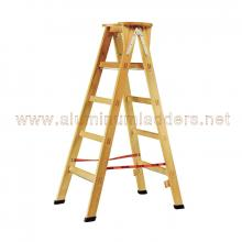 Double Sided Step Wooden Ladders 297 cm