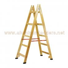 Double Sided Step Wooden Ladders 152 cm