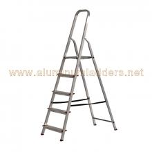3 tread economic aluminum platform stepladder