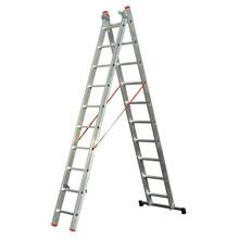 A-Type Double Extension Aluminum Ladders